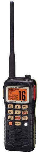 standard horizon hx851 handheld marine vhf radio