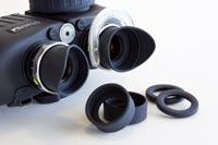 steiner commander v xp marine binocular comes with three eyecups