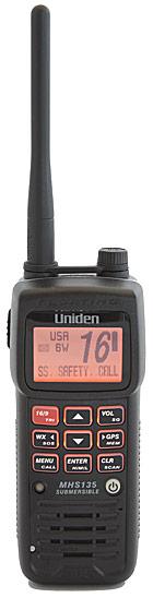 uniden mhs135dsc floating handheld vhf radio