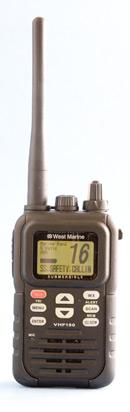 West Marine VHF 150 handheld vhf radio