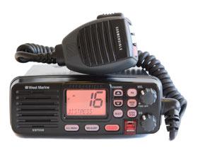 west marine vhf550 marine vhf radio
