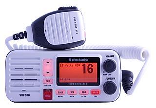 west marine vhf580 marine vhf radio