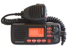 west marine vhf650 marine vhf radio