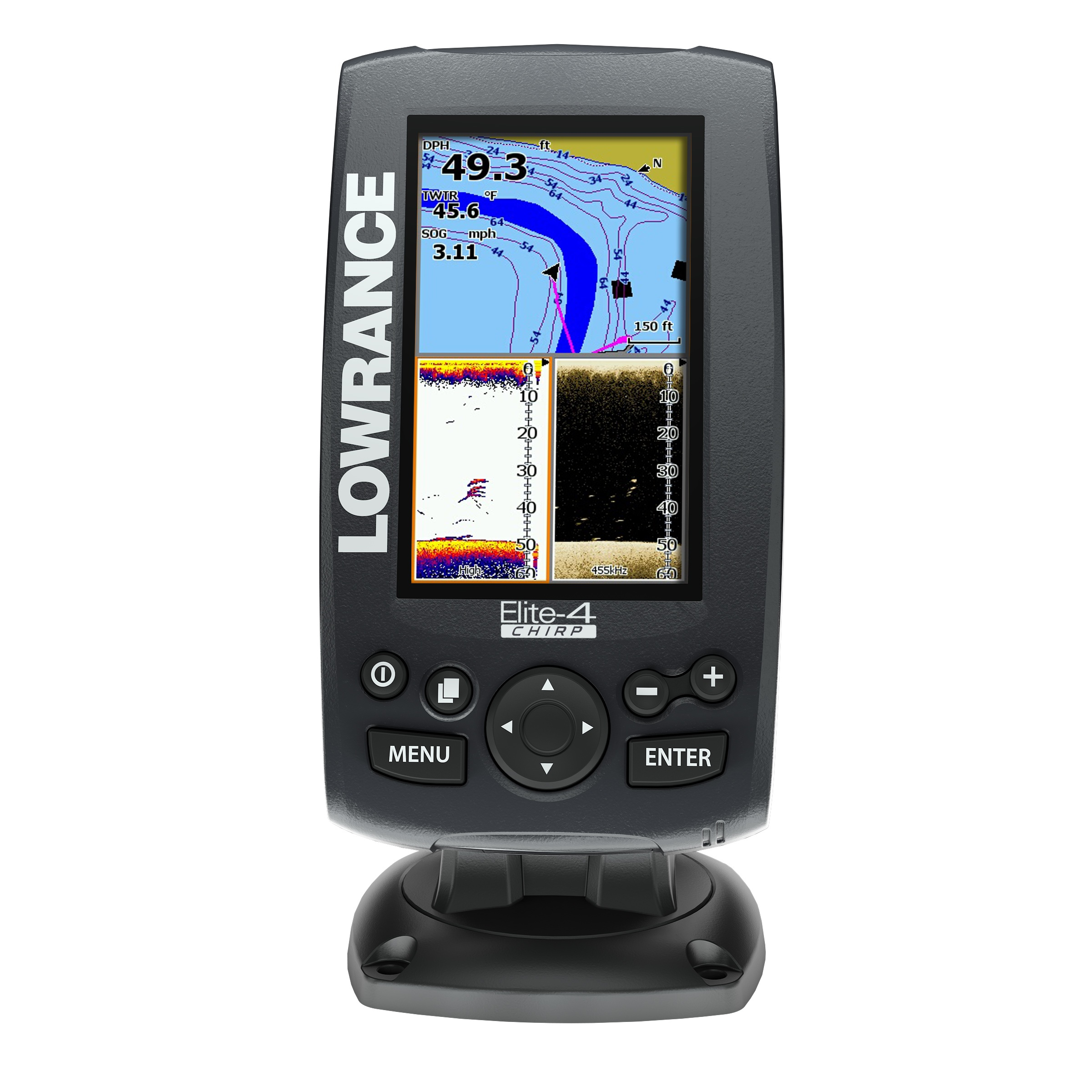 Elite 4 Chirp lowrance elite 4 chirp review fishfinders info  at nearapp.co