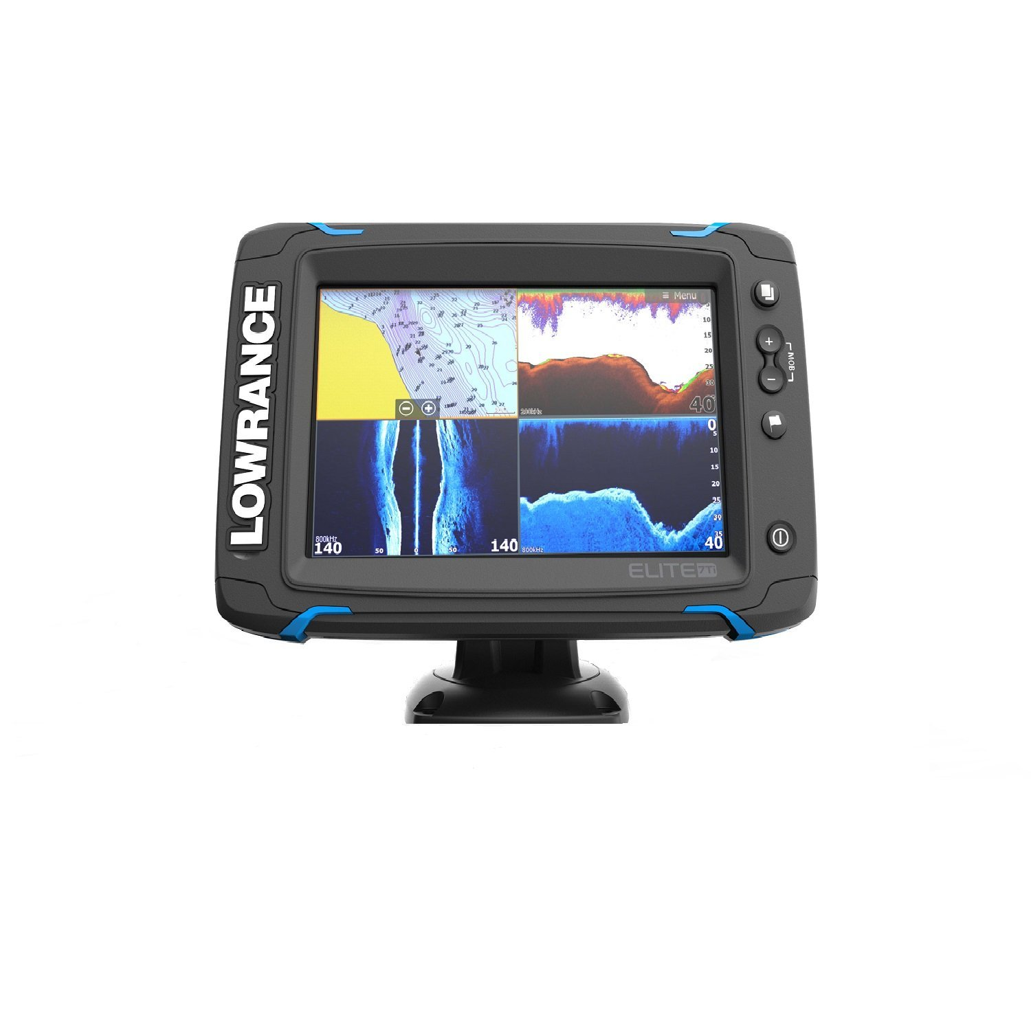 Lowrance Elite 7 Ti Review Fishfinders Info