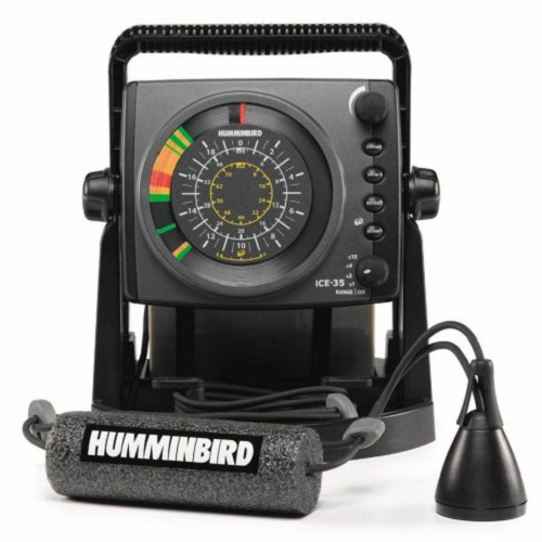 Humminbird Ice 35 Portable Flasher Review Fishfinders Info