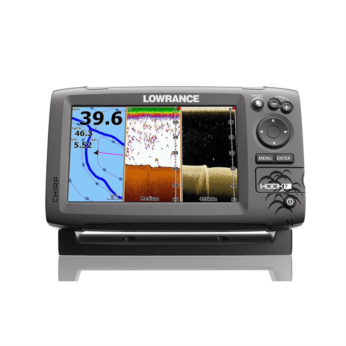 lowrance hook 7 review – best fish finders for 2017 - unbiased, Fish Finder