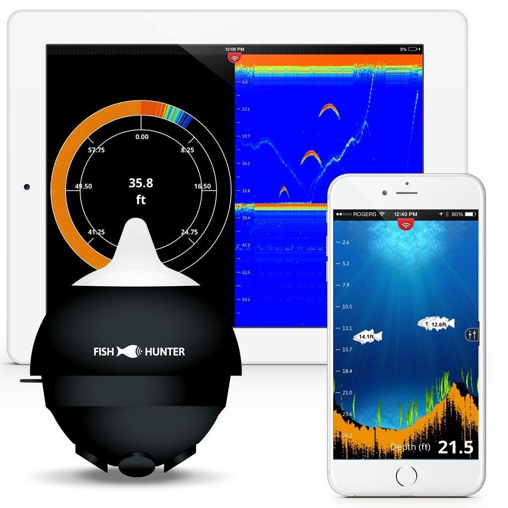 Fishhunter Pro Wireless Portable Fish Finder Review
