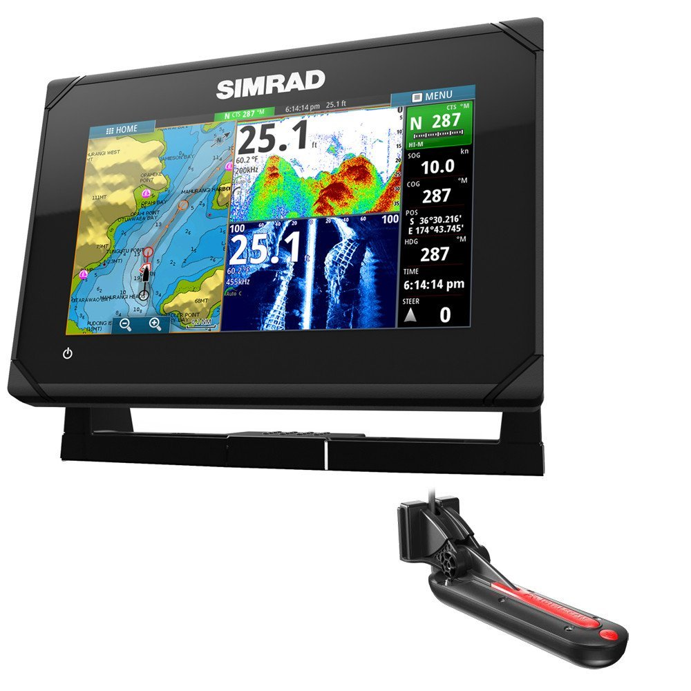 Simrad GO7 XSE Review - FishFinders info