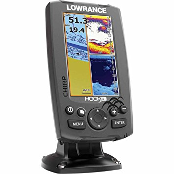 Lowrance Hook 4 Sonar GPS Review - FishFinders info